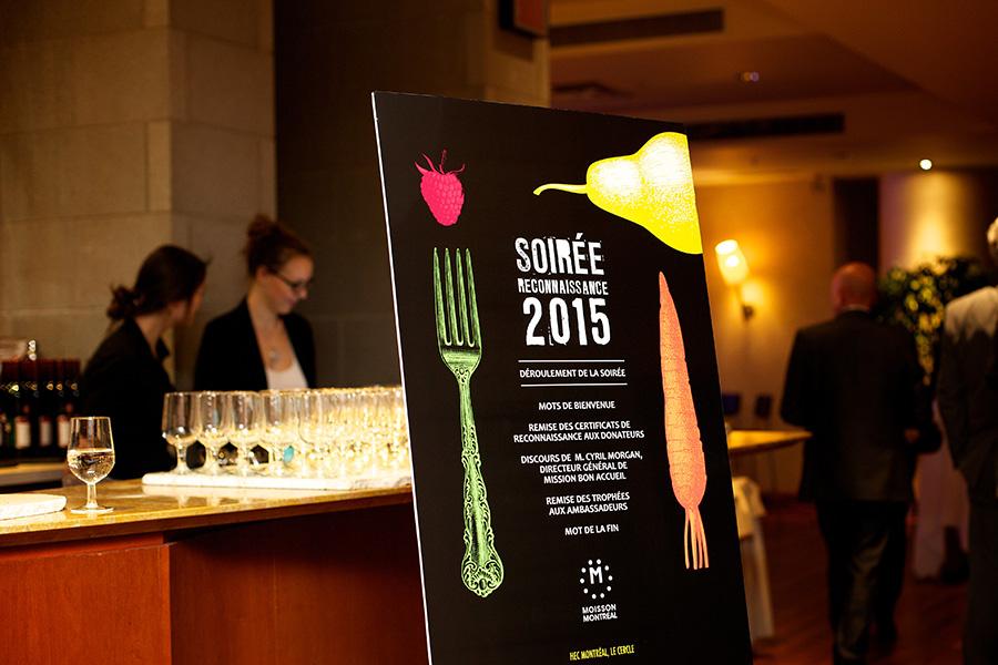 Soirée Reconnaissance de Moisson Montréal 2015