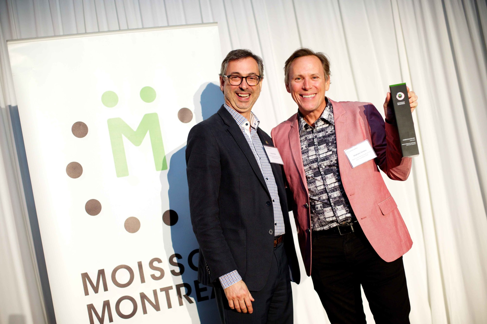 November 6, 2017 - Soiree Reconnaissance 2017 de Moisson Montreal