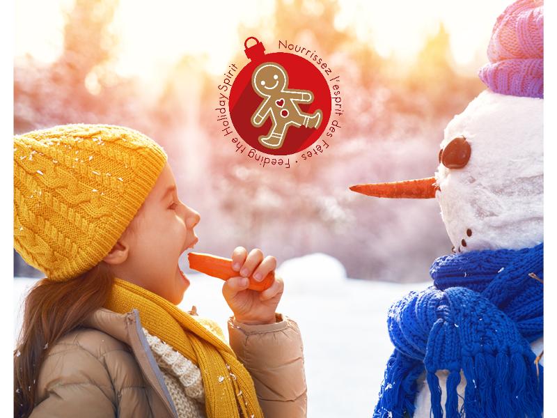Du 1er novembre au 24 décembre 2018, comme chaque année, Moisson Montréal  lance sa campagne annuelle Nourrissez l\u0027esprit des fêtes.