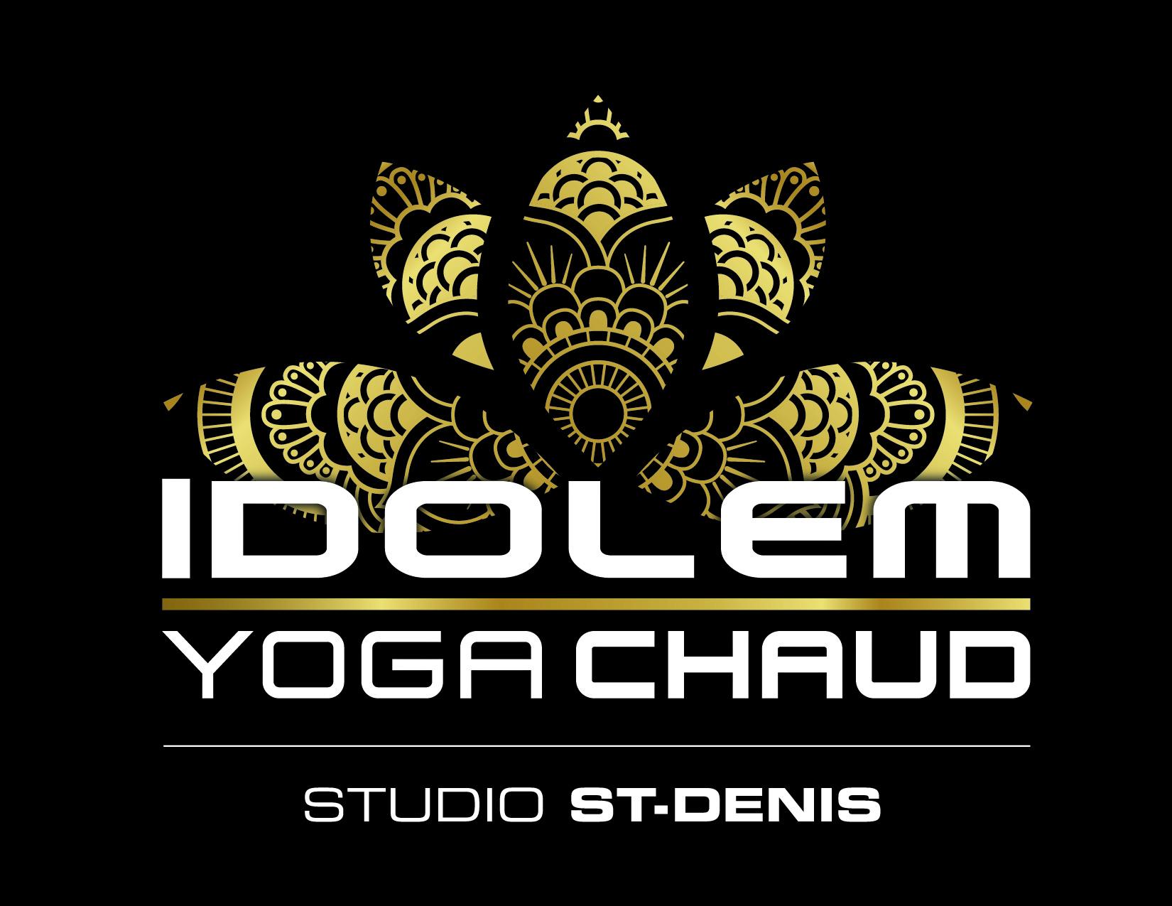 idolem yoga chaud logo