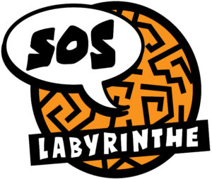 SOS Labyrinthe logo