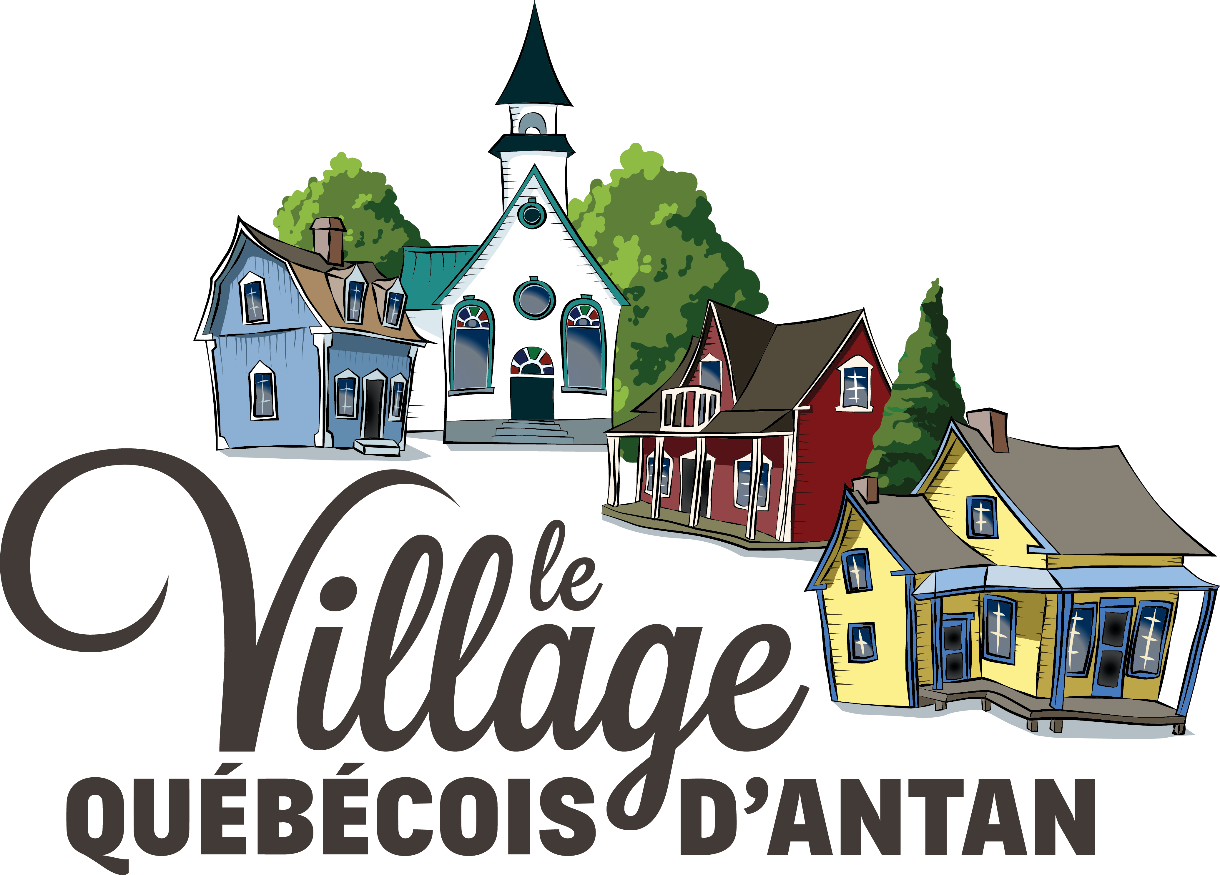 Village QUébécois d'antan logo